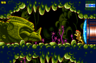 Metroid - Zero Mission GBA 023