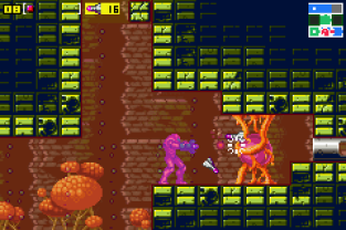 Metroid - Zero Mission GBA 086