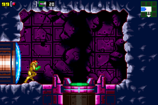 Metroid - Zero Mission GBA 089