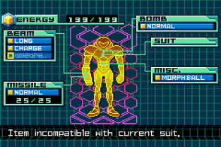 Metroid - Zero Mission GBA 108