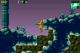 Metroid - Zero Mission GBA 111