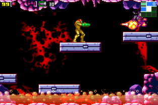 Metroid - Zero Mission GBA 133