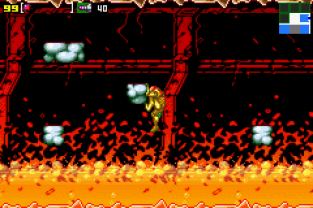 Metroid - Zero Mission GBA 141