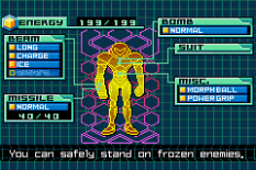 Metroid - Zero Mission GBA 143