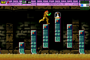 Metroid - Zero Mission GBA 163
