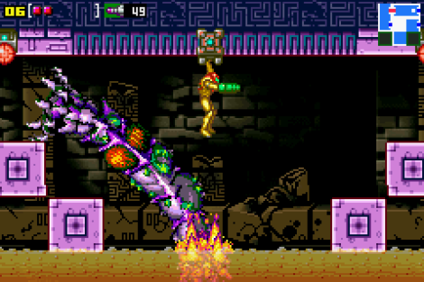 Metroid - Zero Mission GBA 180