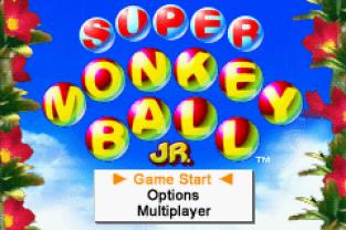 Super Monkey Ball Jr GBA 001