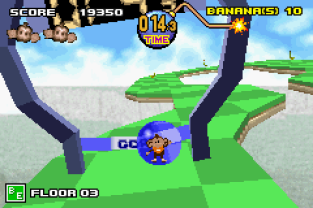 Super Monkey Ball Jr GBA 020