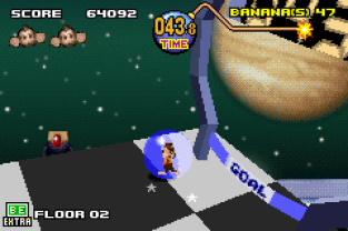 Super Monkey Ball Jr GBA 078