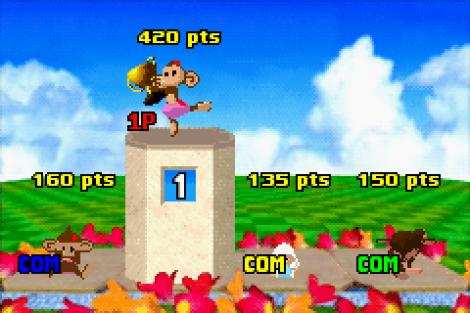 Super Monkey Ball Jr GBA 144