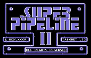 Super Pipeline 2 C64 01