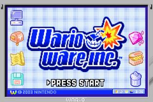 WarioWare Inc - Mega Microgames GBA 009