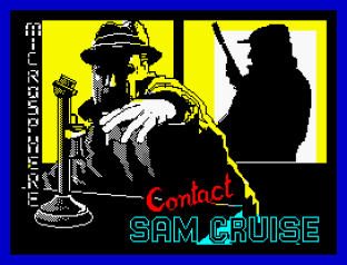 Contact Sam Cruise ZX Spectrum 01