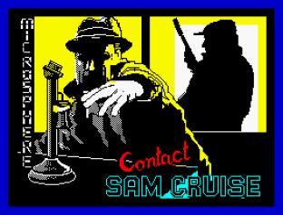 Contact Sam Cruise ZX Spectrum 01