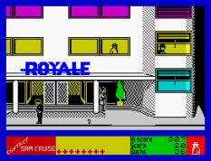 Contact Sam Cruise ZX Spectrum 10