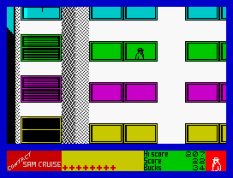 Contact Sam Cruise ZX Spectrum 11