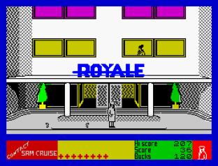 Contact Sam Cruise ZX Spectrum 12