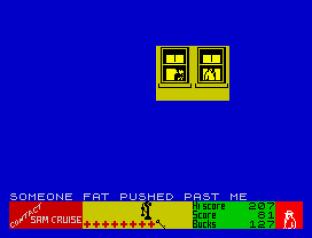 Contact Sam Cruise ZX Spectrum 20