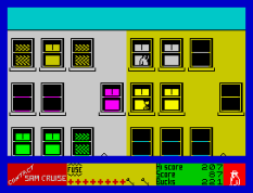Contact Sam Cruise ZX Spectrum 21