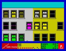 Contact Sam Cruise ZX Spectrum 21