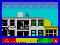 Contact Sam Cruise ZX Spectrum 22