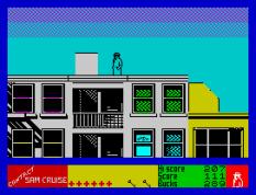 Contact Sam Cruise ZX Spectrum 22