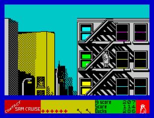 Contact Sam Cruise ZX Spectrum 23