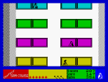 Contact Sam Cruise ZX Spectrum 27