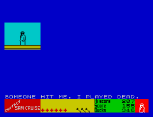 Contact Sam Cruise ZX Spectrum 31