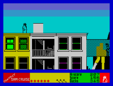 Contact Sam Cruise ZX Spectrum 32