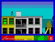 Contact Sam Cruise ZX Spectrum 32