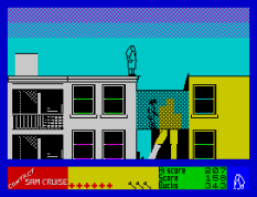 Contact Sam Cruise ZX Spectrum 33