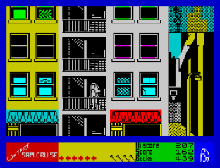 Contact Sam Cruise ZX Spectrum 34