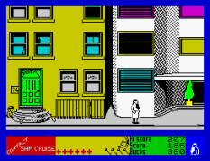 Contact Sam Cruise ZX Spectrum 37