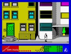 Contact Sam Cruise ZX Spectrum 37