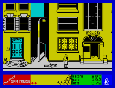 Contact Sam Cruise ZX Spectrum 38