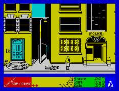 Contact Sam Cruise ZX Spectrum 38