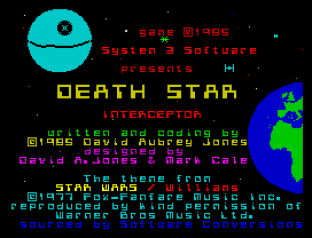 Death Star Interceptor ZX Spectrum 01