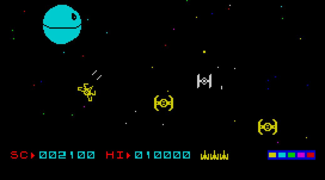 Death Star Interceptor, ZX Spectrum | The King of Grabs