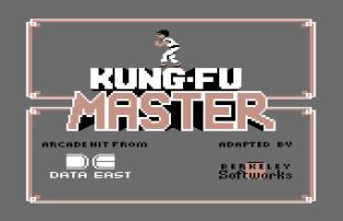 Kung Fu Master C64 01