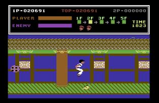 Kung Fu Master C64 09
