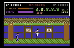 Kung Fu Master C64 12