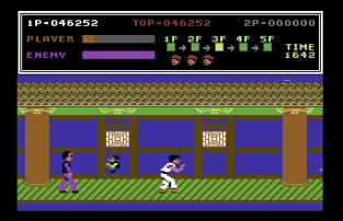 Kung Fu Master C64 20