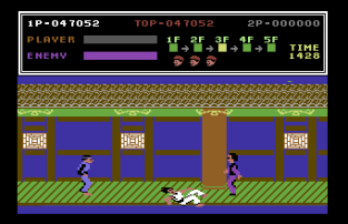 Kung Fu Master C64 23