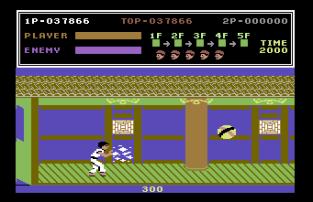 Kung Fu Master C64 31