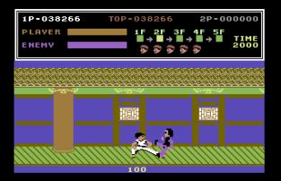 Kung Fu Master C64 34
