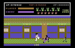 Kung Fu Master C64 42
