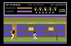Kung Fu Master C64 43