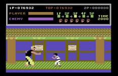 Kung Fu Master C64 44