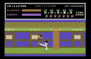 Kung Fu Master C64 45